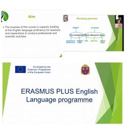 Интенсивный курс английского языка на базе «Центра инновации в образовании и исследовании в области гигиены труда и окружающей среды»