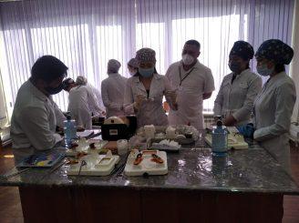 Вице-министр здравоохранения Казахстана Ажар Гиният посетила КазНМУ