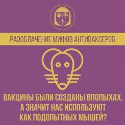 Разоблачение мифов антиваксеров. Вакцины были созданы впопыхах, а значит нас используют как подопытных мышей?